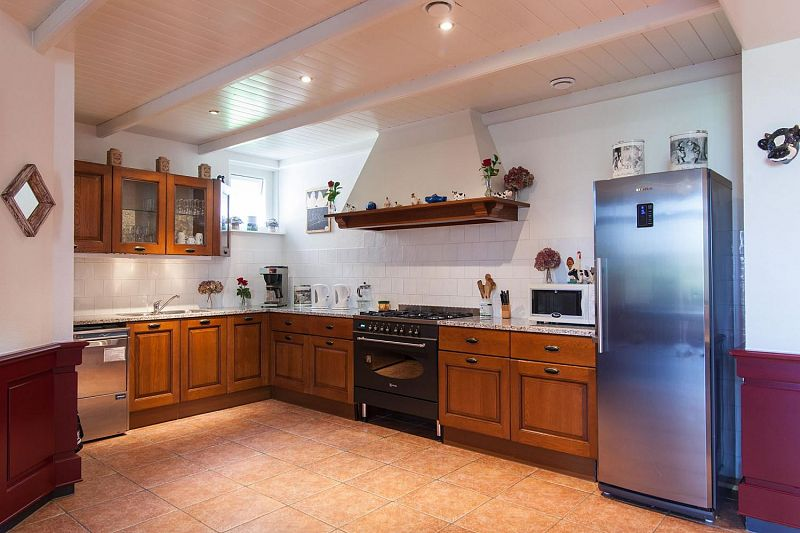 De keuken in de boerenhuiskamer